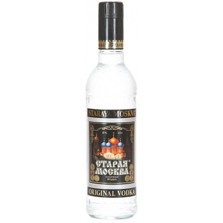 Vodka Vielle Moscou (Staraya Moskva) 40% 0.5L