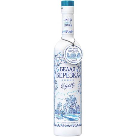 Vodka Belaya Berezka Export (White Birch) 40% 0.5L (Gjel)