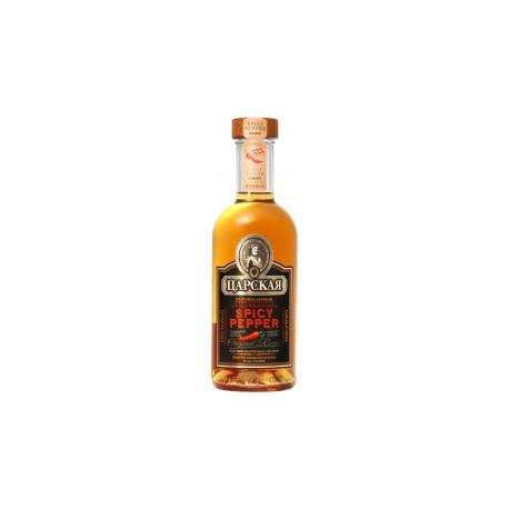 Vodka tsarskaya poivre épice 0.5L 35%