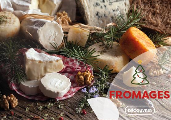 Les fromages pour feter Noël
