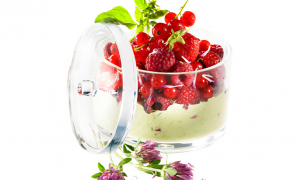 Crème Pistache aux Fruits Rouges